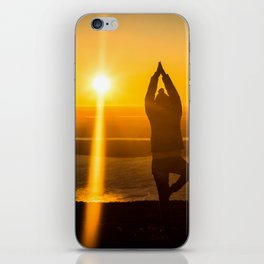 Morning Yoga iPhone Skin