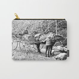 Vintage Adirondacks: The Roadside Watering Trough Carry-All Pouch