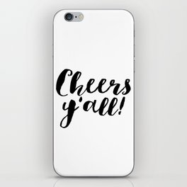 Party Like Gatsby Inspirational Quotes Wall Art Print Cheers Yall Printable Art Celebration Life Bar iPhone Skin
