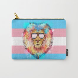 Trans Lion Pride Carry-All Pouch