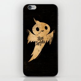 Stay Spooky iPhone Skin