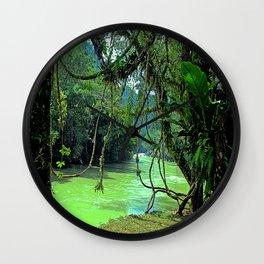 Jungle - Guatemala Wall Clock