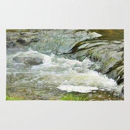 Stream, Hunua Falls, NZ Rug
