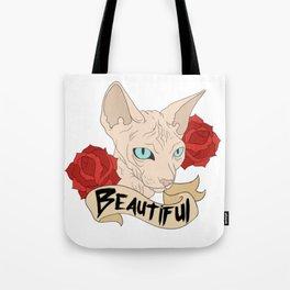Beautiful Sphynx Tote Bag