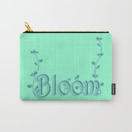 Just one Word: Bloom Carry-All Pouch
