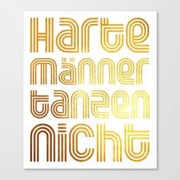 Hartes Tanzen Canvas Print