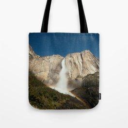Yosemite Falls Night Tote Bag