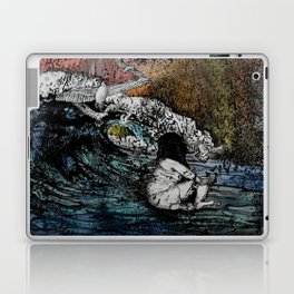 Crawled Out of the Sea  Laptop & iPad Skin