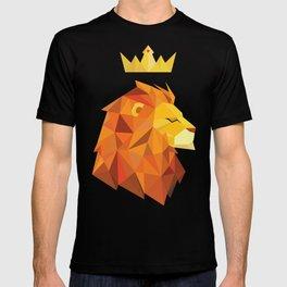 Geometric Lion T-shirt