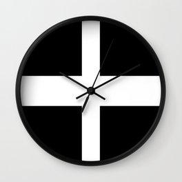 Cornish Flag Wall Clock