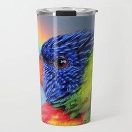 Rainbow Lorikeet Travel Mug