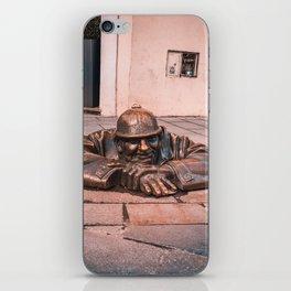 Resting Soldier Bratislava iPhone Skin