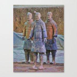 Terracotta Warriors 3 Canvas Print