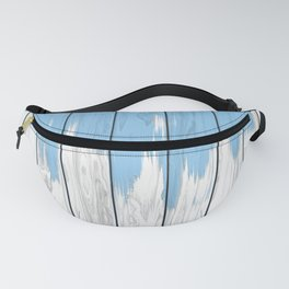 Unfinished Paint Job Fanny Pack