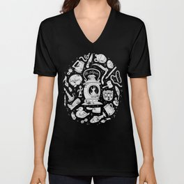 Songs of the Dark Lantern Unisex V-Neck