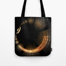 Fractal Solar Eclipse Tote Bag