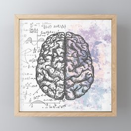 Pastel thoughts... Framed Mini Art Print