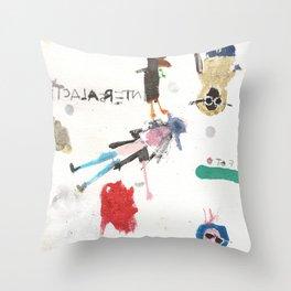 Cosmic Boyz Throw Pillow