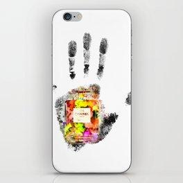 Handprint No 5 iPhone Skin
