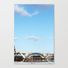 Geometric St Paul Canvas Print
