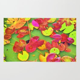 Lily Pad Faces Rug