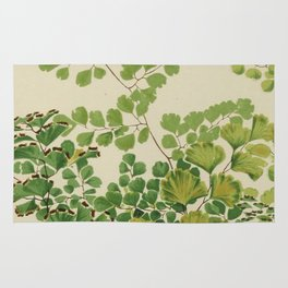 Maidenhair Ferns Rug