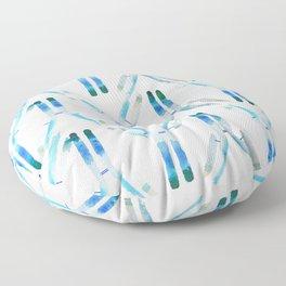 IgG Antibody, Science Art Floor Pillow