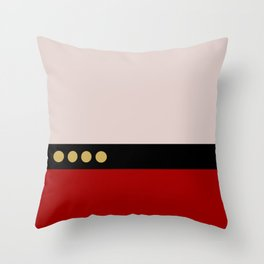 Picard -Minimalist Star Trek TNG The Next Generation  Captain Jean Luc Picard startrek Trektangles Throw Pillow