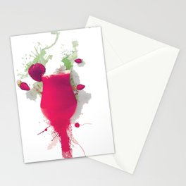 Sorbet fraises chantilly painting colors fashion Jacob's Paris Stationery Cards