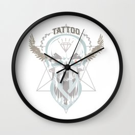 Tattoo You. Wall Clock