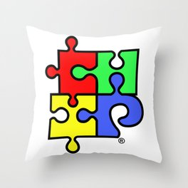 ChiPuzzle Throw Pillow