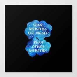 Infinities Canvas Print