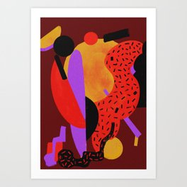 Jazz up Art Print