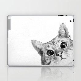 sneaky cat Laptop & iPad Skin