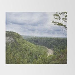 Canyon Springs New - Letchworth Throw Blanket