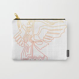 Berlin Angel Single Line Carry-All Pouch