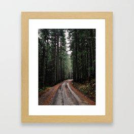 Evergreen Backroads Framed Art Print
