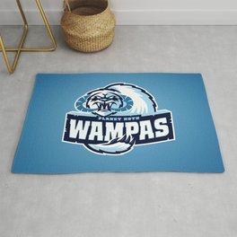 Planet Hoth Wampas - Blue Rug