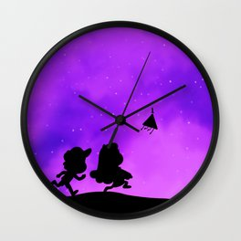 Gravity Falls - Purple Wall Clock
