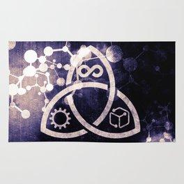 Raines Empire - Coalition Symbol Rug