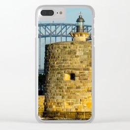 Fort Denison, Sydney Harbour Clear iPhone Case