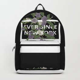 Harry Styles Ever Since New York graphic design Backpack