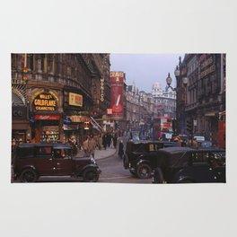 Piccadilly London Kodachrome Rug