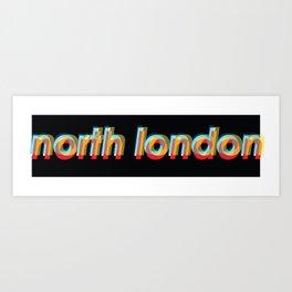 north London  Art Print