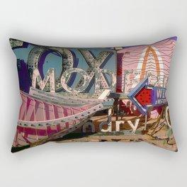 Modern Fox Cleaners Rectangular Pillow