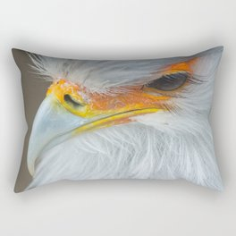 Feathers and eyelashes Rectangular Pillow
