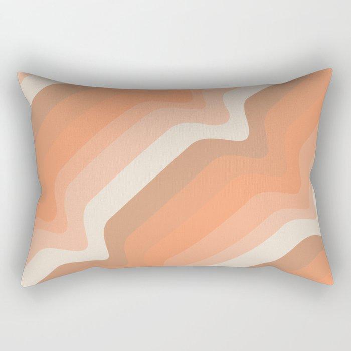 Soleil Waves Rectangular Pillow