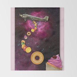 CANDY CRASH Throw Blanket
