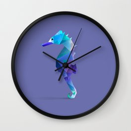 Seahorse. Wall Clock