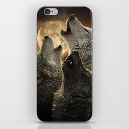 Wolf Trinity iPhone Skin